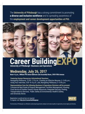 Career Building Expo