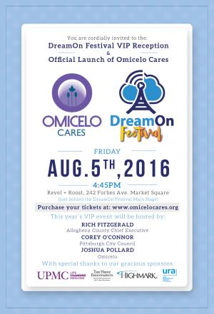 DreamOn Festival VIP Reception & Official Launch of Omicelo Cares