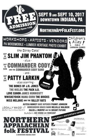 Northern Appalachian folk Festival
